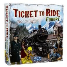Ticket to ride Europe - društvena igra